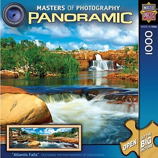 MasterPieces Atlantis Falls 1000 Piece Panoramic Puzzle Master Of Photography Collection