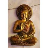 MC Brass Metal Buddha Meditating
