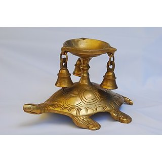 MC Brass Metal Turtle Candle Holder