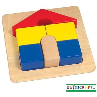 Guidecraft Primary Puzzle - House G2017