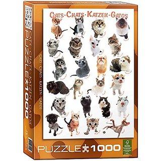 Cat Breeds 1000-Piece Puzzle
