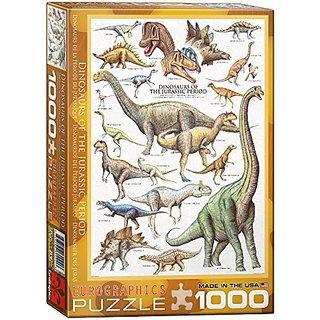 Dinosaurs Jurassic 1000-Piece Puzzle