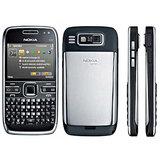 Rissachi Phone Housing Body Panel For Nokia E72 Mobile Black