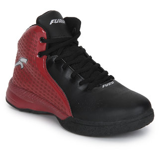 40a4a3d56983 Buy Furo By Redchief Black Basketball Shoes By Red Chief Online - Get 15%  Off