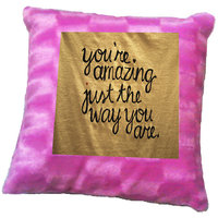 You Are Amazing Quote Printed Cushion Cover By Shopmillions