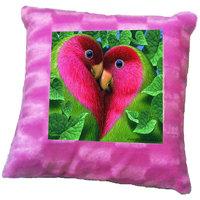 Love Birds Printed Cushion Cover By Shopmillions