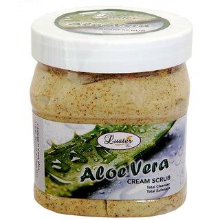 Luster Aloe Vera Face & Body Creme Scrub 500ml