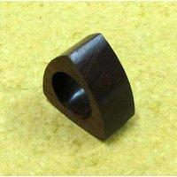 Wooden Triangular Napkin Ring Set Of 4 Pieces