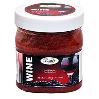 Luster Wine Exfoliating Gel Scrub 500ml
