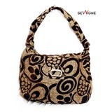 Sevvone Brown Hobo Handbag