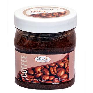 Luster Coffee Exfoliating Gel Scrub 500ml