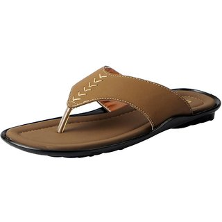 Action Men's Tan Slippers