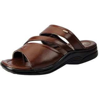 Action Men's Brown Slippers