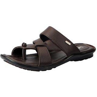 Action Men's Brown Slippers
