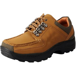 Action Men's Brown Lace-up Smart Casuals