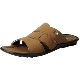 Action Men's Tan Slip on Smart Casuals