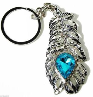 3 pcs OMG Key Chain (Silver)