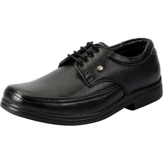 Action Men's Black Formal Lace-up Shoes