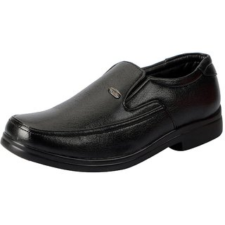 Action Men's Black Formal Slip on Shoes