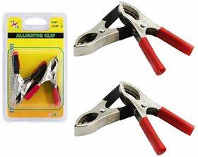 4Pc Alligator Clip Assortment Set Electrical Battery Clamp Connect#3h