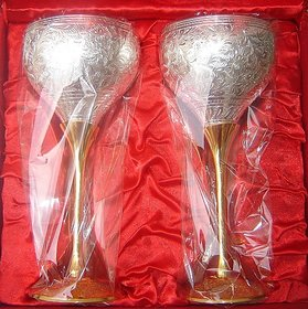 Silver Plated - Wine Glasses