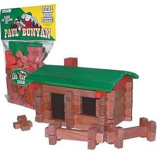 Paul Bunyan Log Building Set