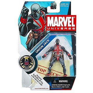 Marvel Universe Series 4 Union Jack Action Figure