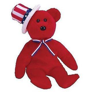 Ty Beanie Babies Sam - Bear Red