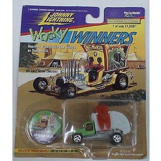 Johnny Lightning Wacky Winners DIE Cast CAR Garbage Truck