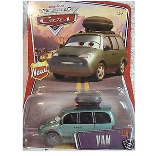 Van Disney Pixar World Of Cars Mattel 1:55 Scale