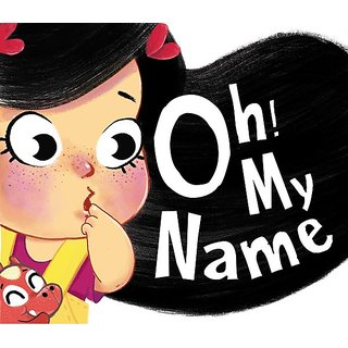 Oh! my name with Free Puppet Personalized Children's book, Personalized gift, Bedtime stories, Personalized books Paper