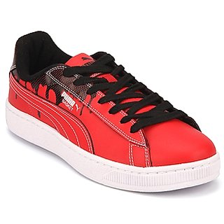 Puma Basket City 2 Ind Red Running Shoes