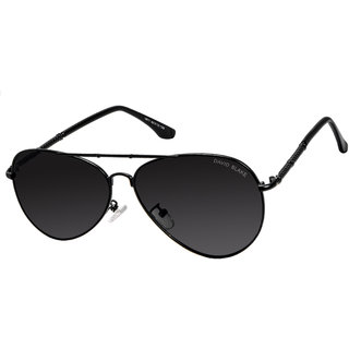 David Blake Black UV Protection Full Rim Sunglasses