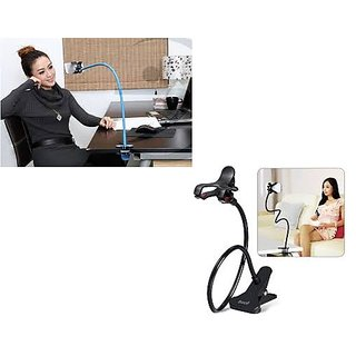 Long Lazy Mobile Phone Holder Metal Stand For Bed Desk Table