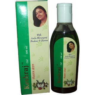 KESHRAJ HAIR OIL -Remedy for Hair falling
