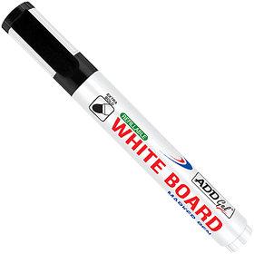 Add Gel White Board Marker Black Set of 20 Markers Pens