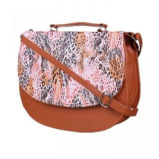 KATVON Multicolor Self Design Sling Bags