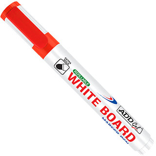 Add Gel White Board Marker Red Set of 20 Markers Pens