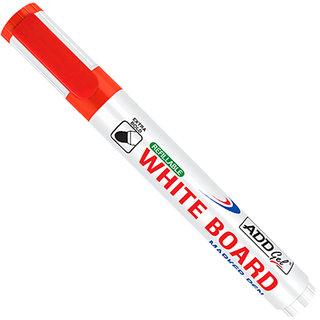 Add Gel White Board Marker Red Set of 20 Markers Pens