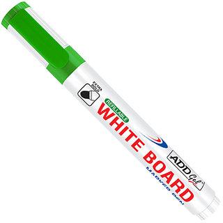 Add Gel White Board Marker Green Set of 20 Markers Pens