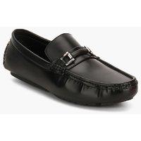 San Frissco Men Black Slip-on Casual Shoes