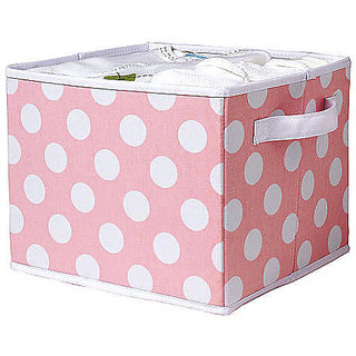 6th Dimensions Multi Purpose Foldable Storage Box - Faded pink