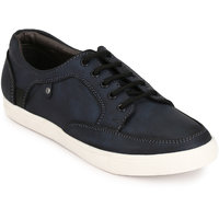San Frissco Men Blue Lace-up Casual Shoes