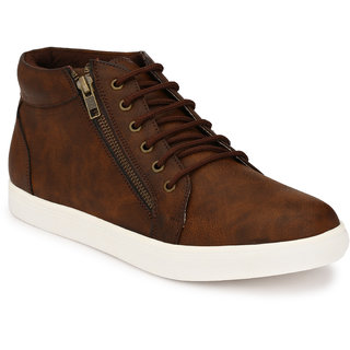 Buy San Frissco Men's Tan Lace-up Casual Shoes Online at Best Price in India