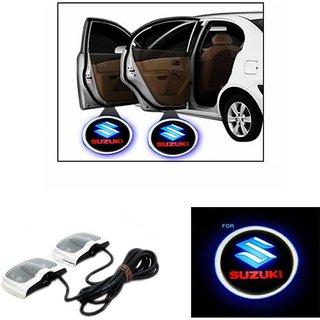 LED Shadow Logo For Suzuki Car Fancy Lights