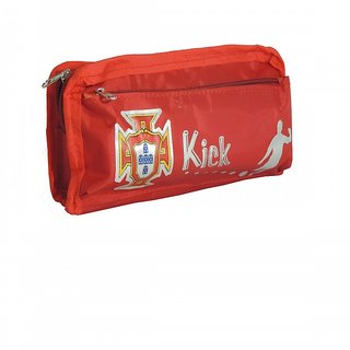Trendy Organiser Pouch Utility Pouch Travel Kit Shaving Kit Toiletry Kit Makeup  Kit (Red) 43337dc23ccc3