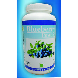 Hawaiian Herbal, Hawaii,USA - BLUEBERRY POWDER - 200 gm (Buy any Healthcare Supplement  Get the Same Drops Free)