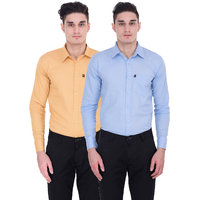 London Looks Men's Multicolor Regular Casual Shirt