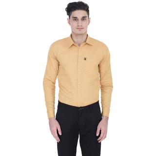 London Looks Men's  Regular Casual Poly-Cotton Shirt