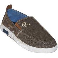 Adybird Men's Brown Slip On Casual Shoes